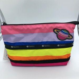 LeSportsac Large Expandable Cosmetic Bag